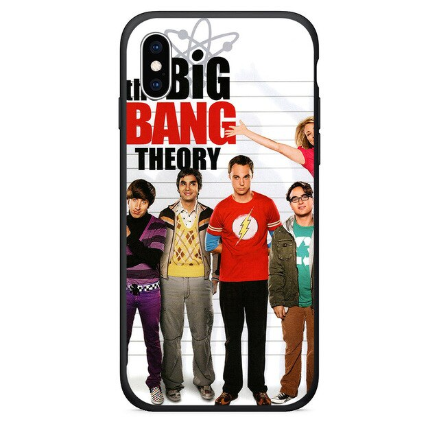 Big Bang Theory Phone Case For iPhone