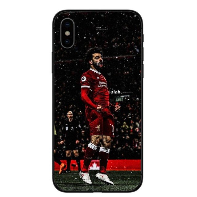 Mo Salah Celebrating Phone Case For iPhone