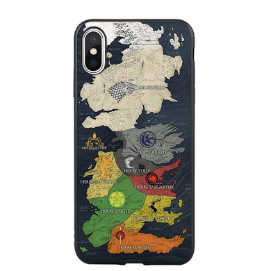 Map Phone Case For iPhone