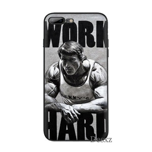 Work Hard Phone Case For iPhone