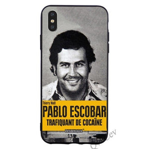Pablo Yellow Mug Shot Phone Case For iPhone
