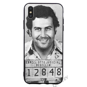 Pablo Mug Shot Phone Case For iPhone