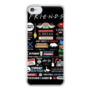 Friends Quotes Phone Case For iPhone