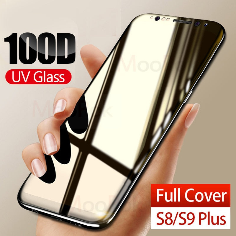 Liquid Curved Full Glue Tempered Glass For Samsung Galaxy
