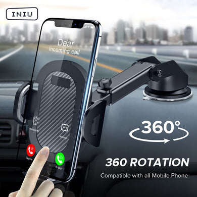 Sucker Car Phone Holder 360 Mount