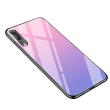 Load image into Gallery viewer, Gradient Tempered Glass Phone Case For Huawei