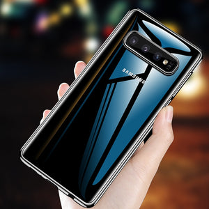 Transparent Clear Phone Case For Samsung Galaxy