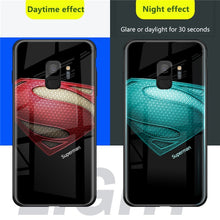 Load image into Gallery viewer, Marvel Luminous Tempered Glass Case For iPhone