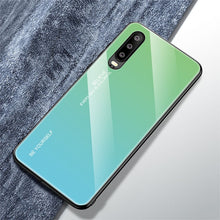 Load image into Gallery viewer, Gradient Rainbow Phone Case for Huawei
