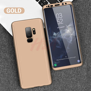 Luxury 360 Full Cover Phone Case For Samsung Galaxy