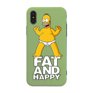 Fat And Happy Phone Case For iPhone