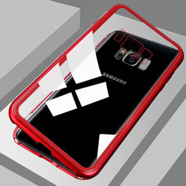 Magnetic Adsorption Metal Case For Samsung Galaxy