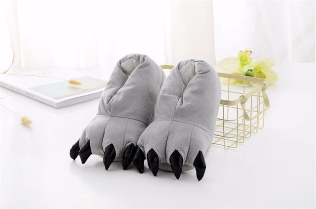 Kigurumi Slippers Grey