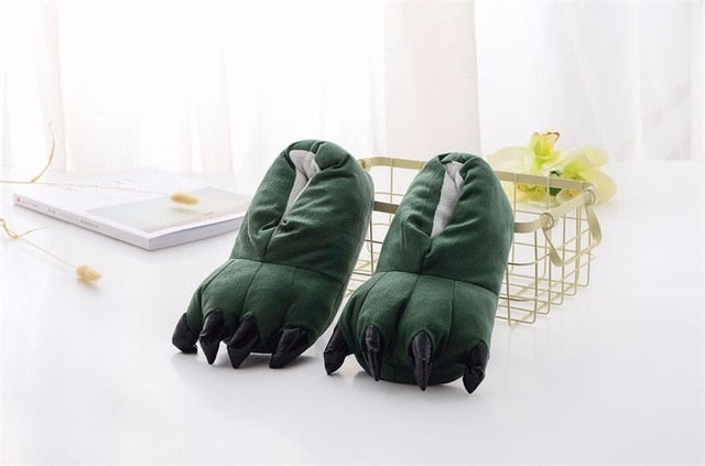 Kigurumi Slippers Green