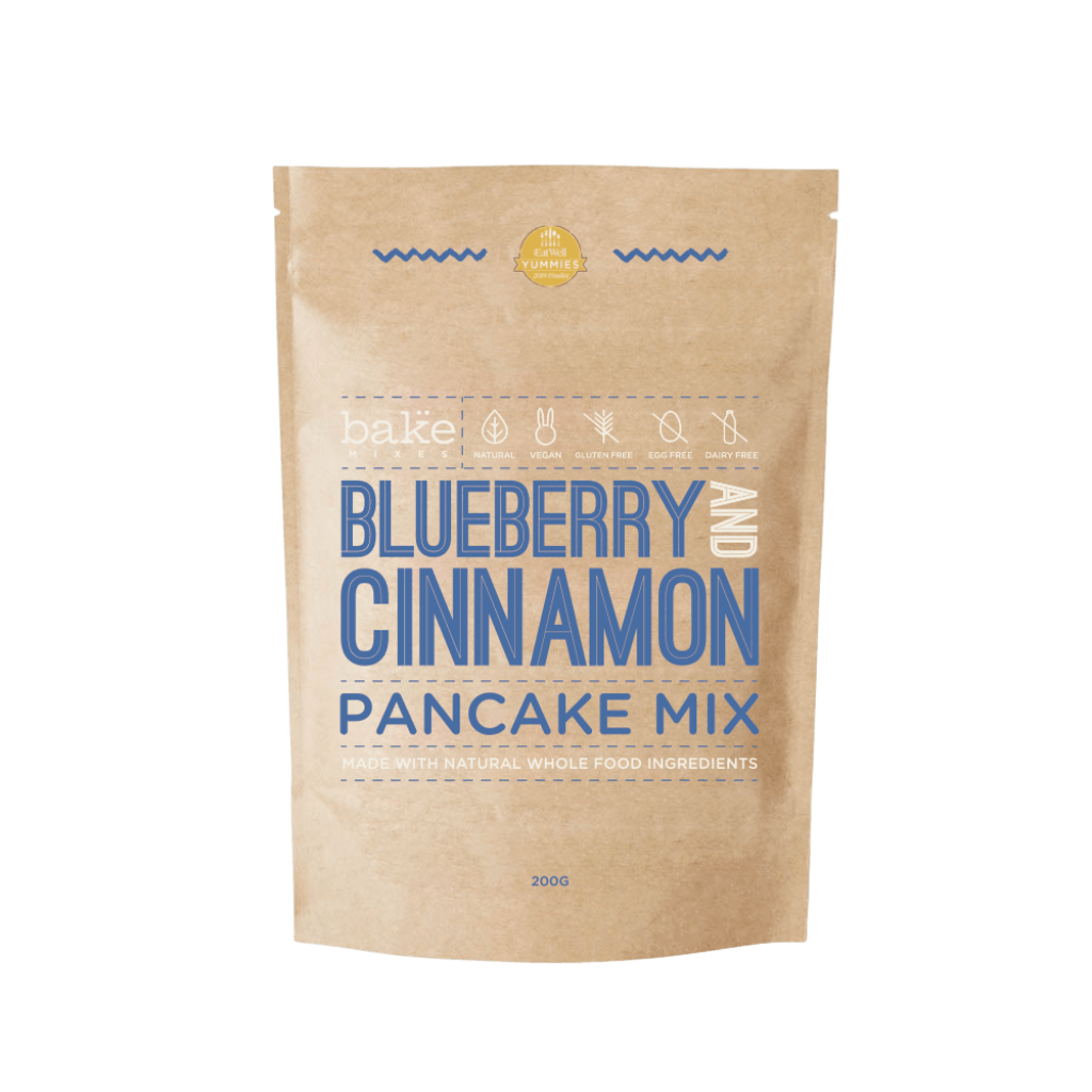 Blueberry and Cinnamon Pancake Mix (GF)