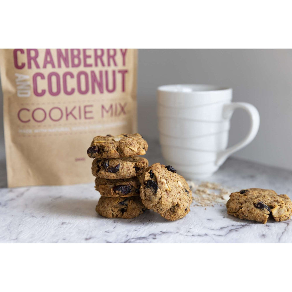 Cranberry and Coconut Cookie Mix (GF)