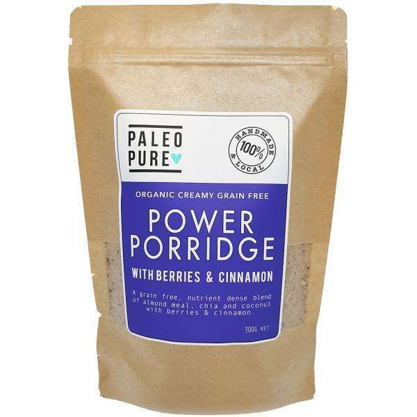 Paleo Pure Organic Power Porridge w Berries & Cinnamon 300g
