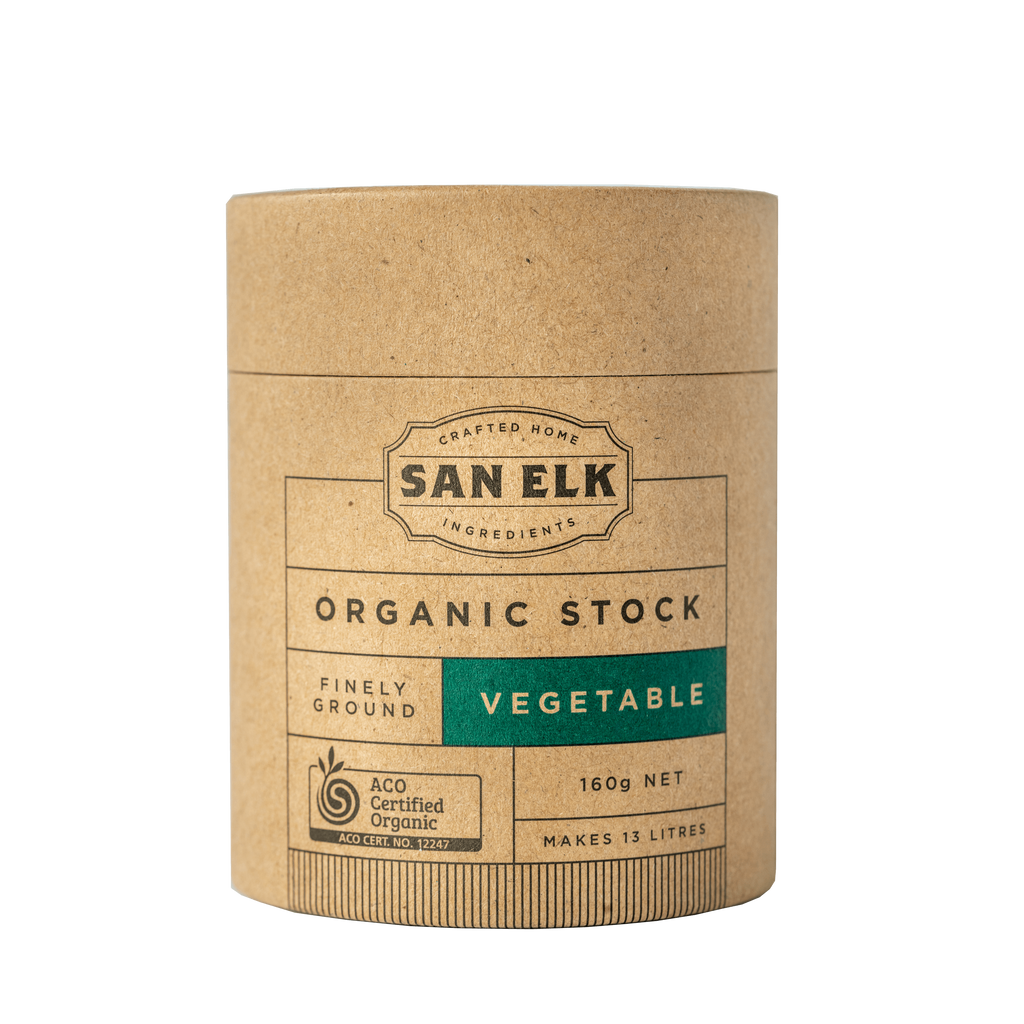 SAN ELK Organic Vegetable Stock 160g
