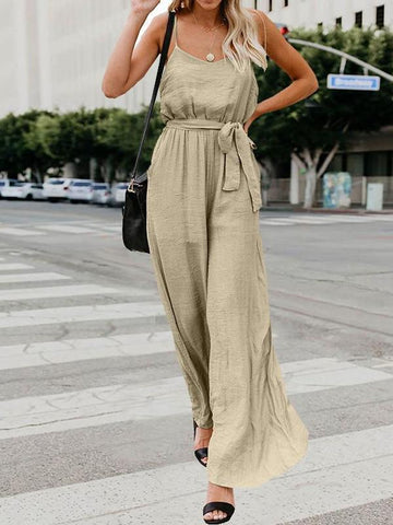 Sling Wide Leg Sexy Jumpsuit