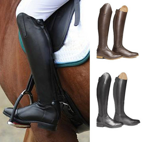 Fashion Leather Riding Boots