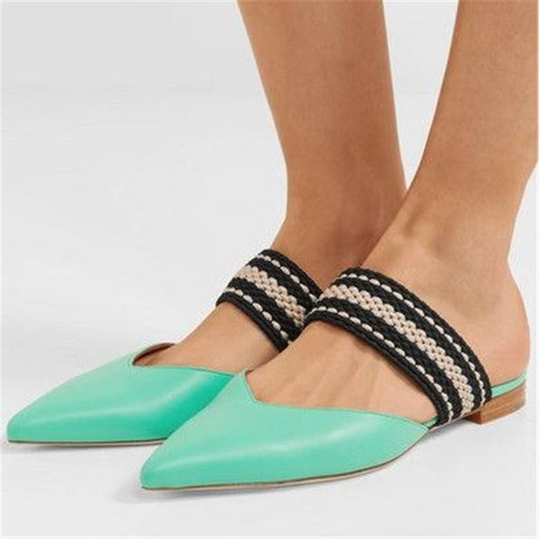 Fashion Versatile Pointed Flat Shoes