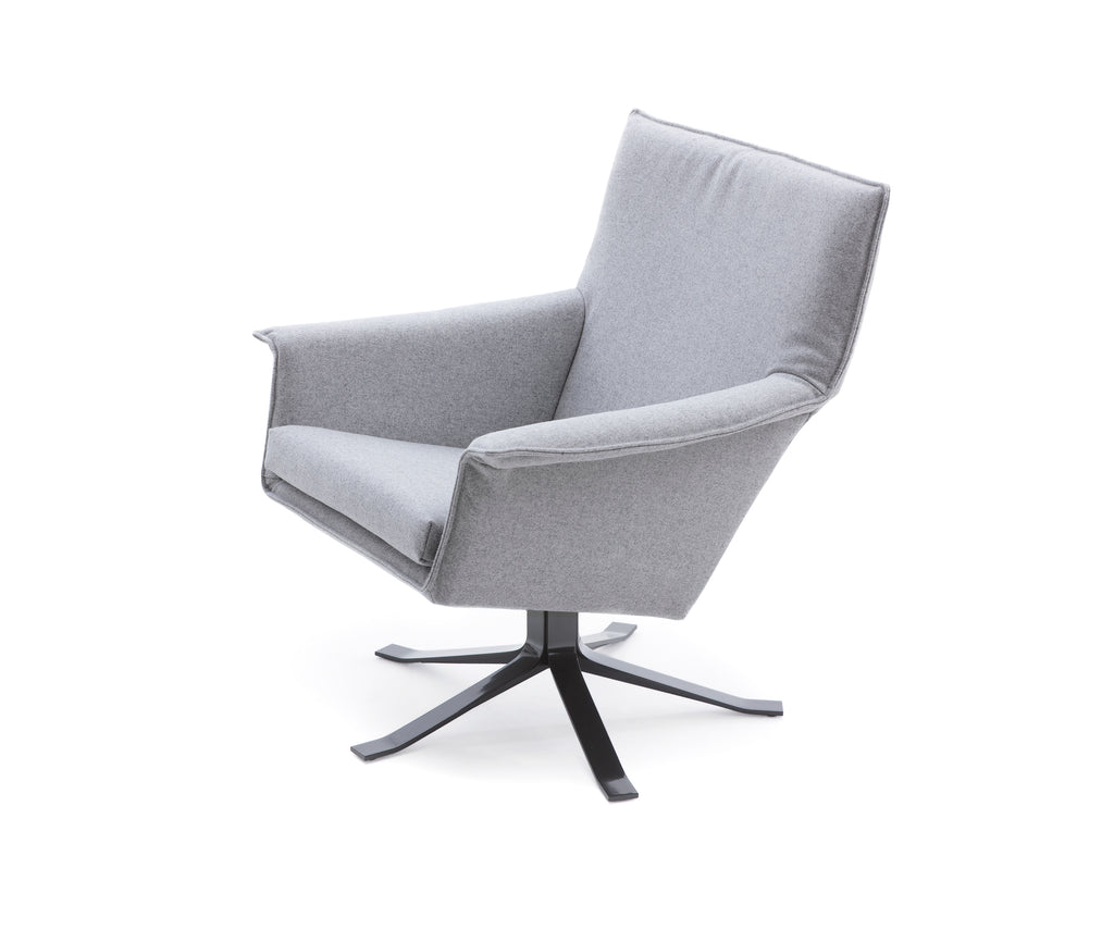 Djenné fauteuil-Fauteuil-Design on Stock-Stof Ploegwool Oyster-Kavel 84