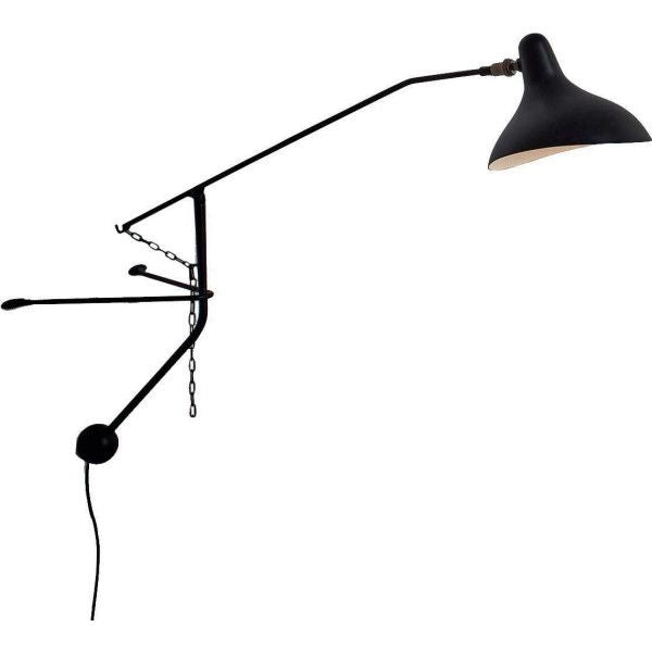 DCW éditions wandlamp Mantis Mini - , Verlichting, DCW éditions [Kavel 84 woonwinkel Waalwijk], [variant_title], [option1], [option2], [option3]