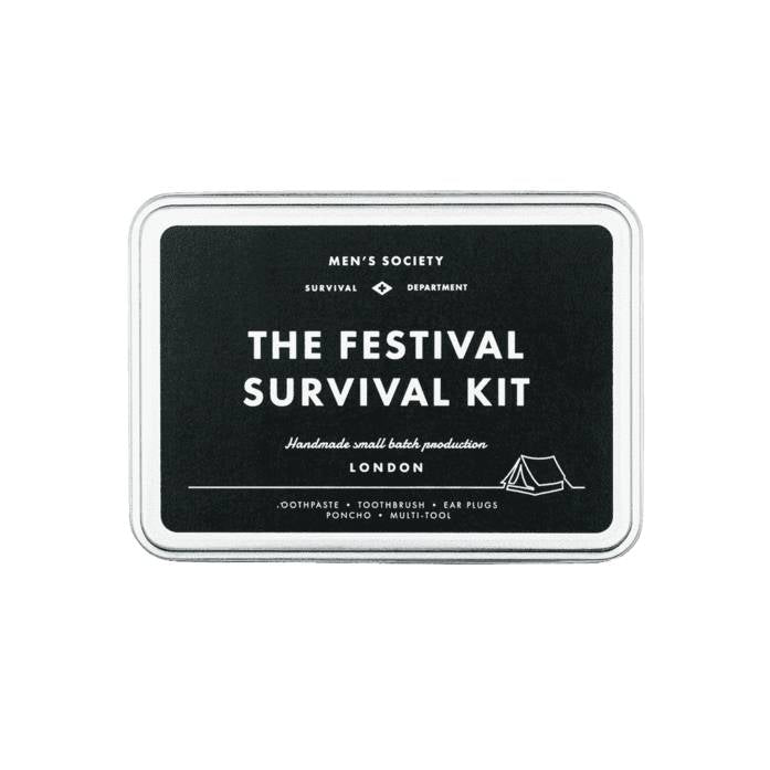 The Festival Survival Kit - , Decoratie, Men's Society [Kavel 84 woonwinkel Waalwijk], [variant_title], [option1], [option2], [option3]