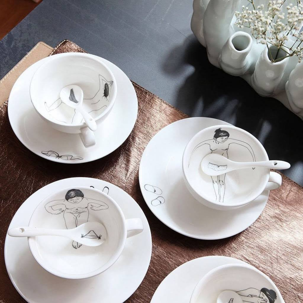 Take a bath thee set Servies Kavel 84 Woonwinkel