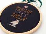 Know thyself DIY cross stitch kit