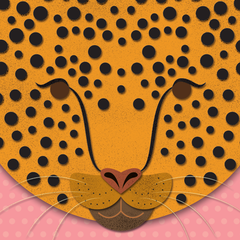 L is for Leopard // A5