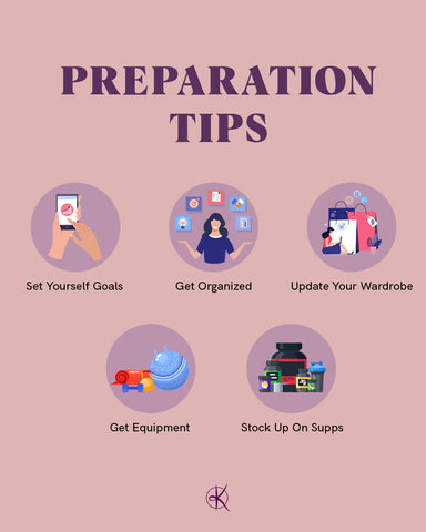 Top preparation tips for starting a health and fitness change