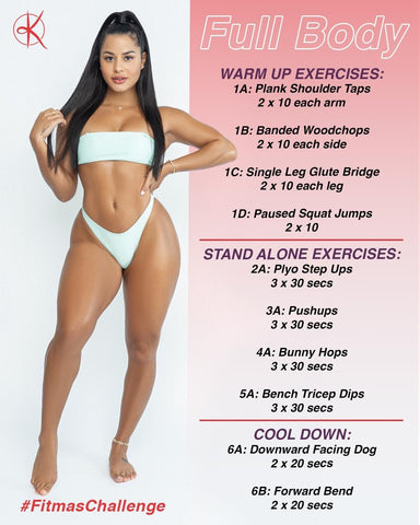 Full Body Workout Card