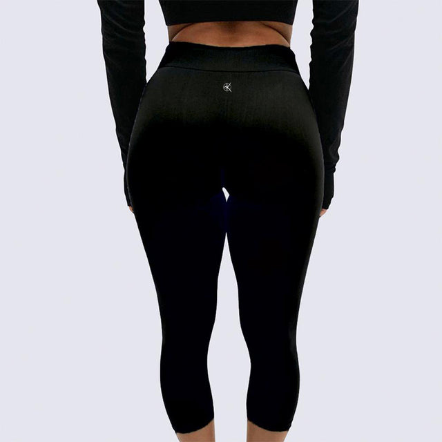 Summer Leggings | BLACK