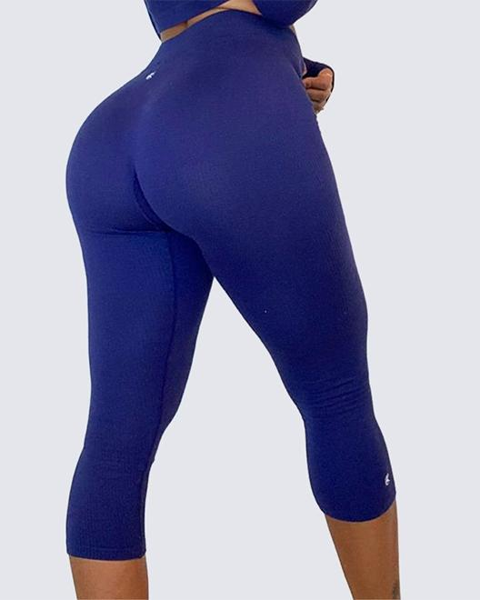 Classic Ribbed Leggings | ROYAL BLUE