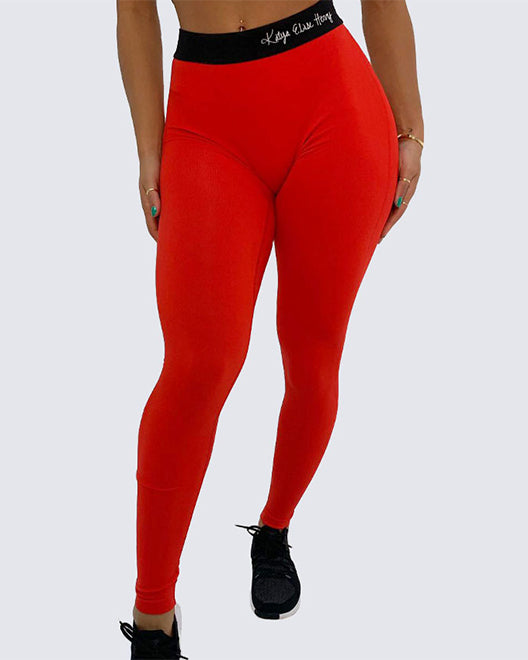 Saige Leggings | FIRE RED