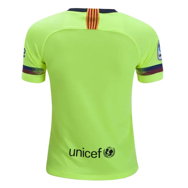 best service 16314 00a7a Kids FC Barcelona Away Whole Kit Soccer Jersey 2018-2019