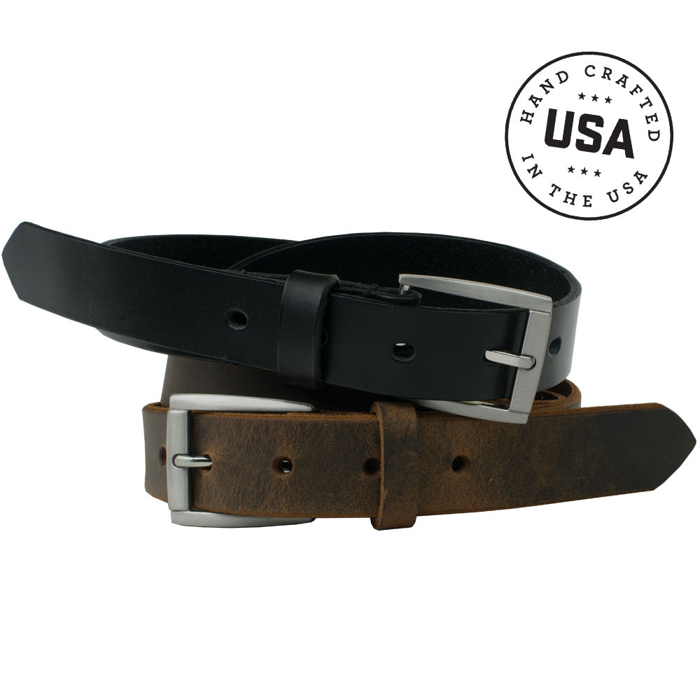 Child's Class 'n' Casual Belt Set by Nickel Smart, nonickel.com, made in the USA