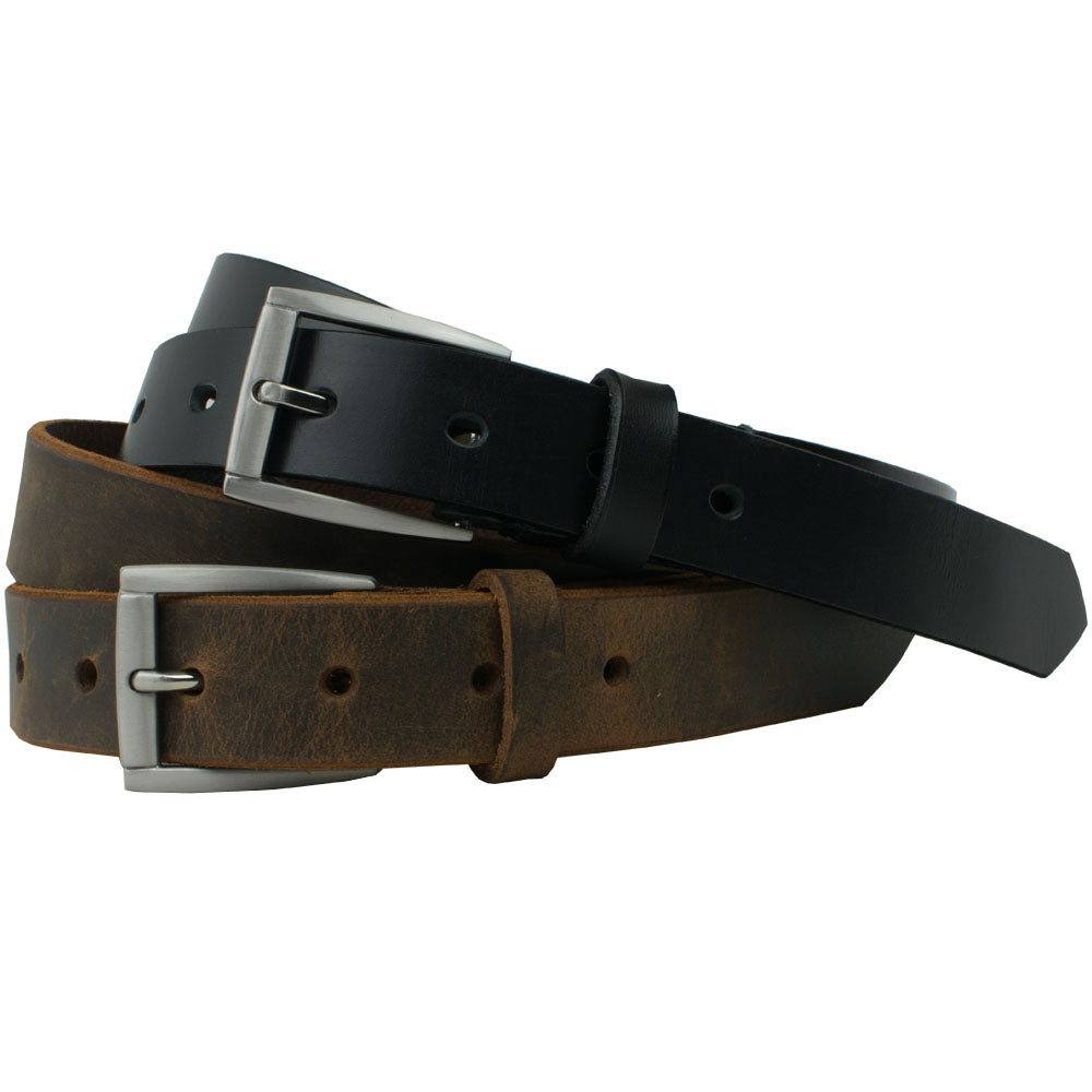 Child's Class 'n' Casual Belt Set by Nickel Smart, nonickel.com, zinc buckle