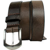 Stone Mountain Chocolate Crackle Leather Belt - Limited Edition by Nickel Smart®