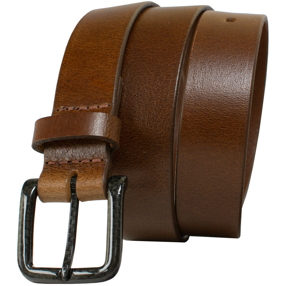 The Specialist Brown Belt By Nickel Smart® | Nonickel.com, no nickel, hypoallergenic