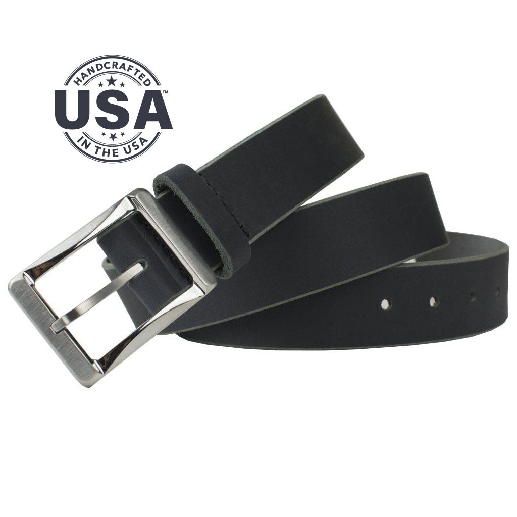 Titanium Work Belt Ii (Black) By Nickel Smart® | Nonickel.com. Made in the USA
