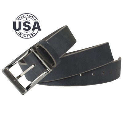 Nickel Free Belt - Titanium Work Belt (Distressed Gray) By Nickel Smart® | Nonickel.com. Made in the USA