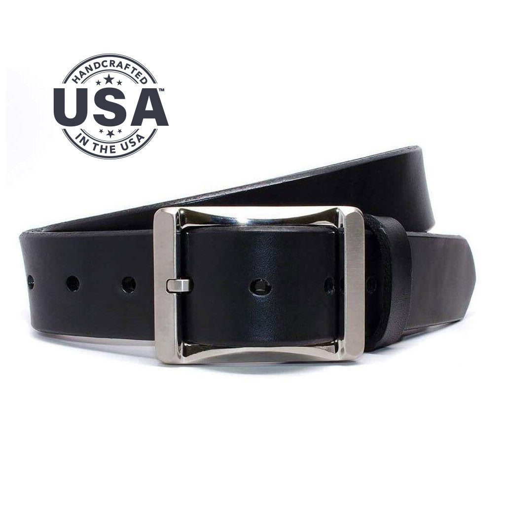 Nickel Free Belt - Ajs Gun Belt By Nickel Smart® | Nonickel.com, made with genuine leather in USA