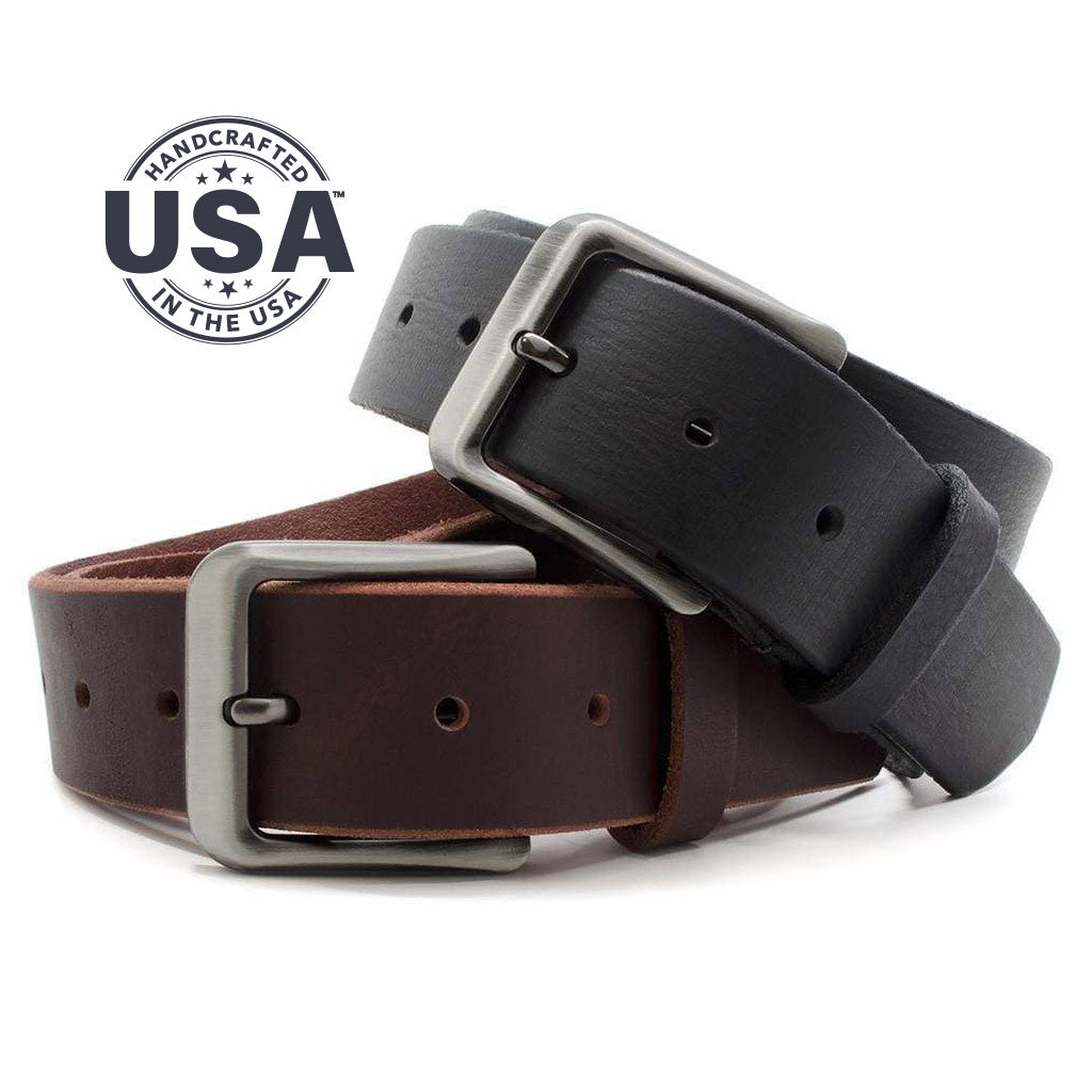Appalachian Mountains Titanium Belt Set By Nickel Smart® | Nonickel.com, made in the USA belts