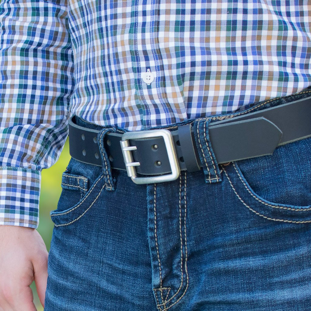 Black Ridgeline Trail Belt Set By Nickel Smart® | Nonickel.com, nickel free, casual belt