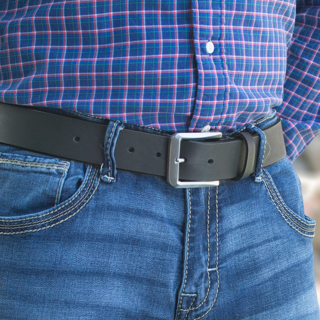 Smoky Mountain Titanium Black Belt, Made in the USA