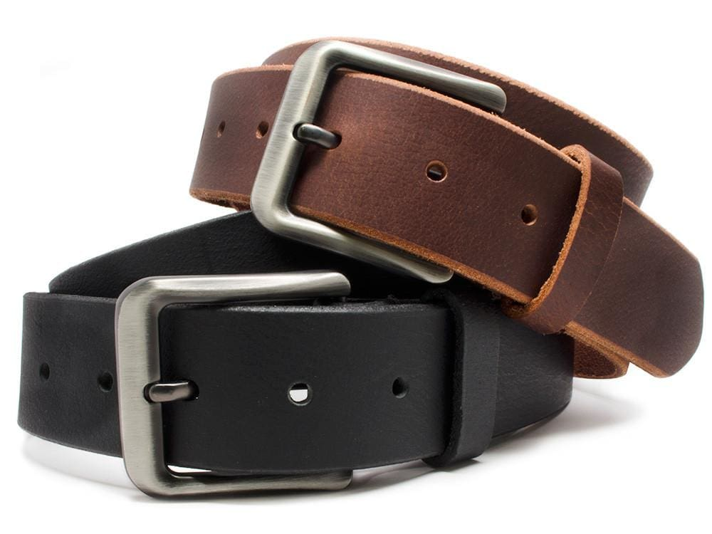 Nickel Free Belt - Appalachian Mountains Leather Belt Set By Nickel Smart® | Nonickel.com
