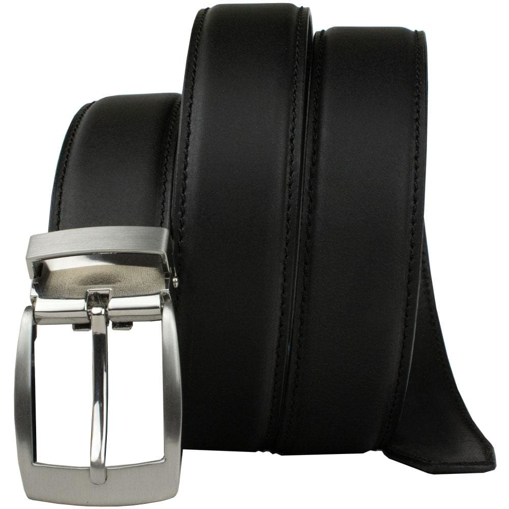 Black Dress Belt By Nickel Smart® | Nonickel.com, Nickel Free, Zinc buckle