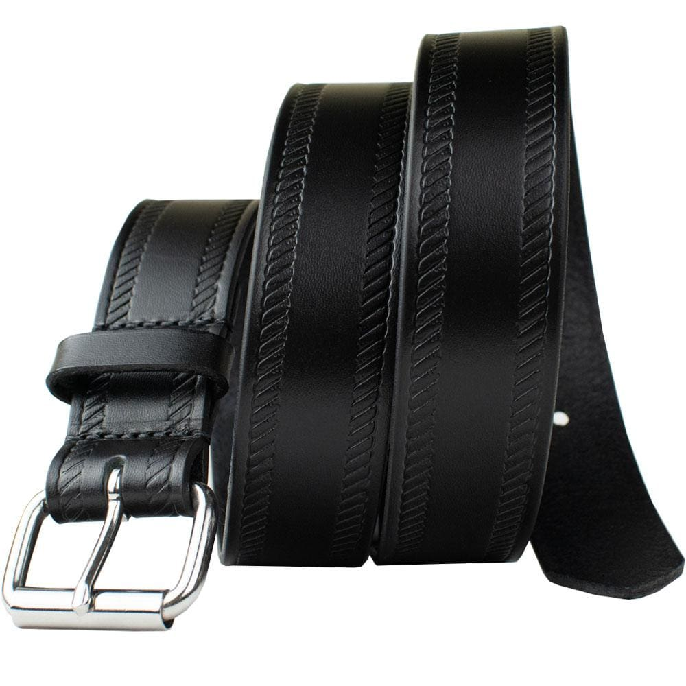 Black Rope Belt By Nickel Smart® | Nonickel.com, nickel free, stainless steel buckle